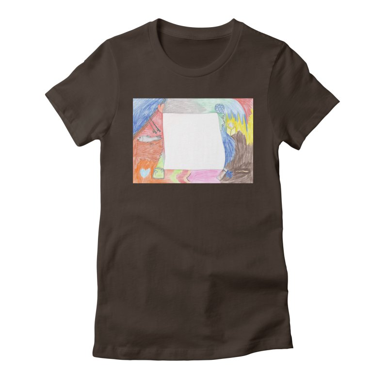 My Life Is Emptiness Women's Fitted T-Shirt by nagybarnabas's Artist Shop