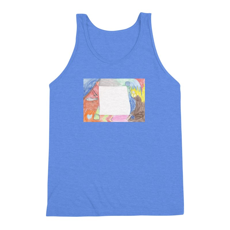My Life Is Emptiness Men's Triblend Tank by nagybarnabas's Artist Shop