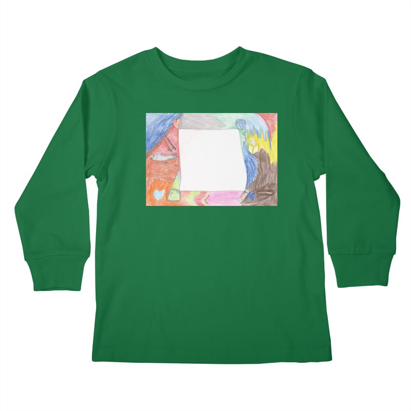 My Life Is Emptiness Kids Longsleeve T-Shirt by nagybarnabas's Artist Shop