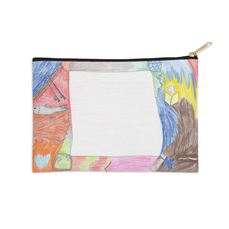 My Life Is Emptiness Accessories Zip Pouch by nagybarnabas's Artist Shop