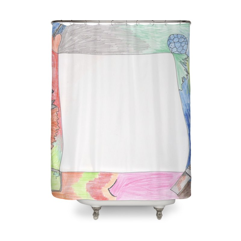 My Life Is Emptiness Home Shower Curtain by nagybarnabas's Artist Shop