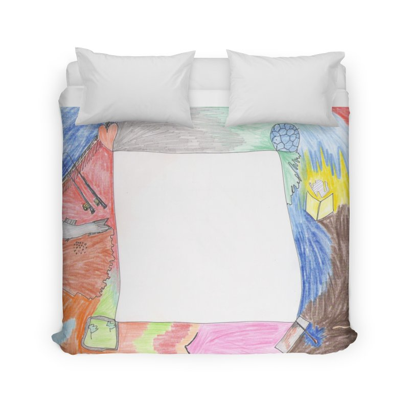 My Life Is Emptiness Home Duvet by nagybarnabas's Artist Shop
