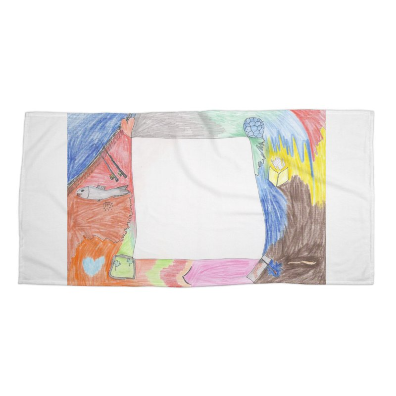 My Life Is Emptiness Accessories Beach Towel by nagybarnabas's Artist Shop