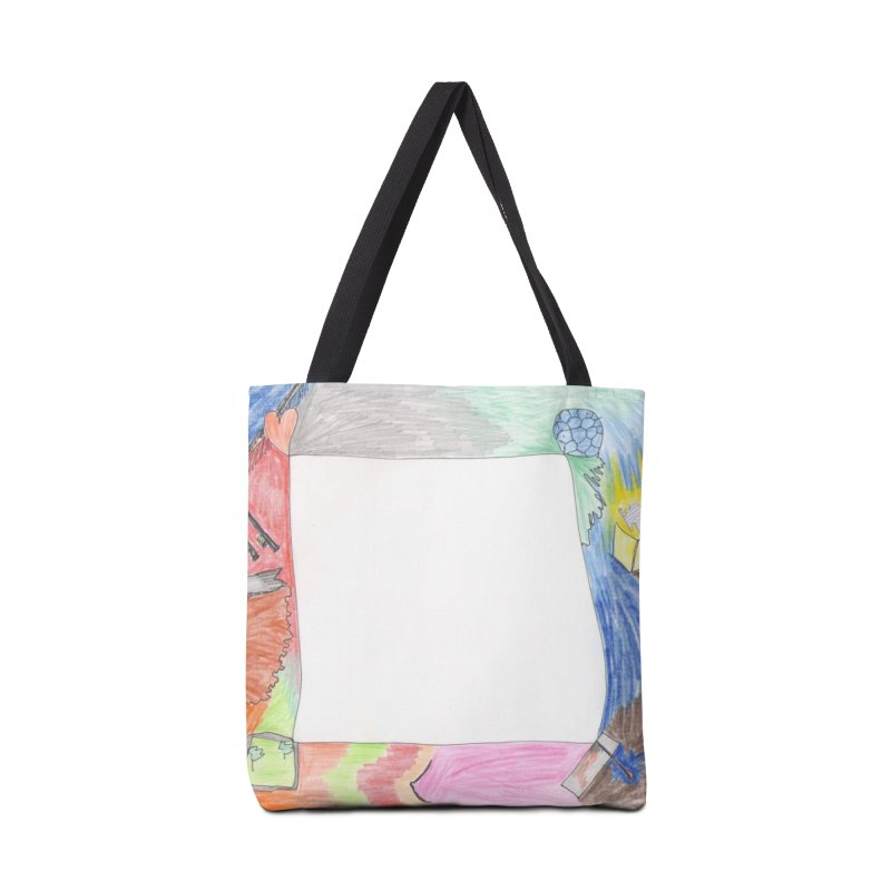 My Life Is Emptiness Accessories Bag by nagybarnabas's Artist Shop
