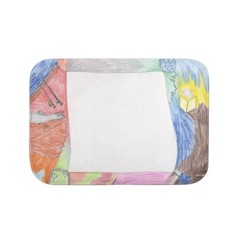 My Life Is Emptiness Home Bath Mat by nagybarnabas's Artist Shop
