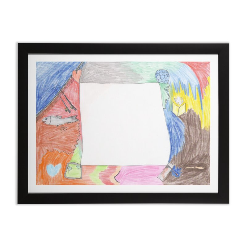 My Life Is Emptiness Home Framed Fine Art Print by nagybarnabas's Artist Shop