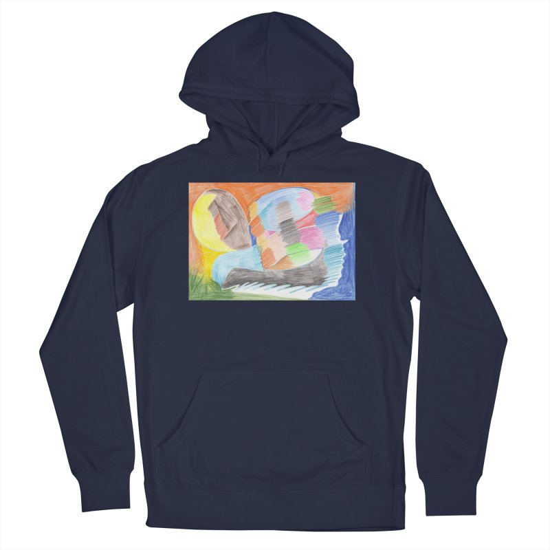 The River Of Life Men's French Terry Pullover Hoody by nagybarnabas's Artist Shop