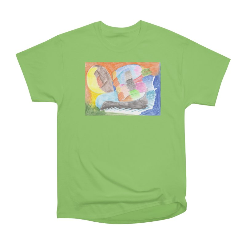 The River Of Life Women's Heavyweight Unisex T-Shirt by nagybarnabas's Artist Shop
