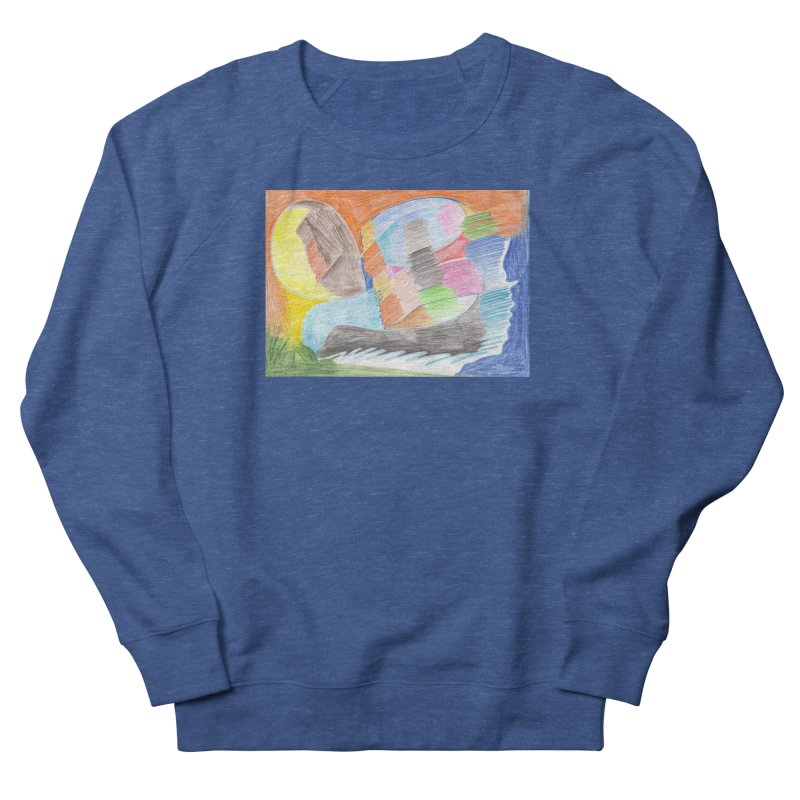 The River Of Life Women's French Terry Sweatshirt by nagybarnabas's Artist Shop