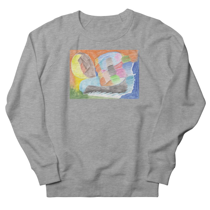 The River Of Life Men's French Terry Sweatshirt by nagybarnabas's Artist Shop