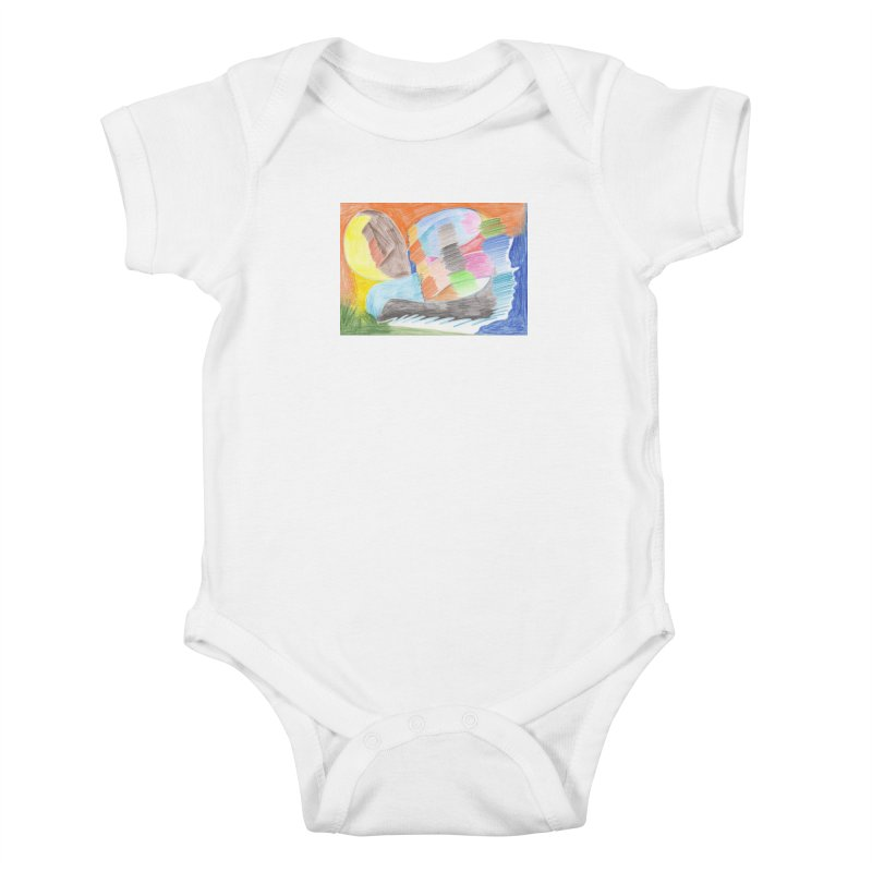 The River Of Life Kids Baby Bodysuit by nagybarnabas's Artist Shop