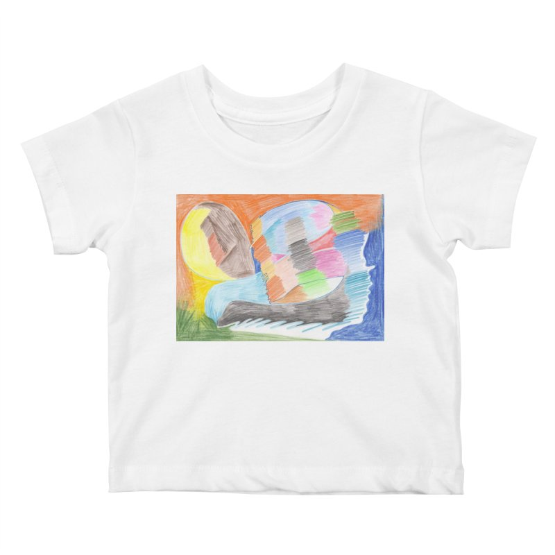 The River Of Life Kids Baby T-Shirt by nagybarnabas's Artist Shop