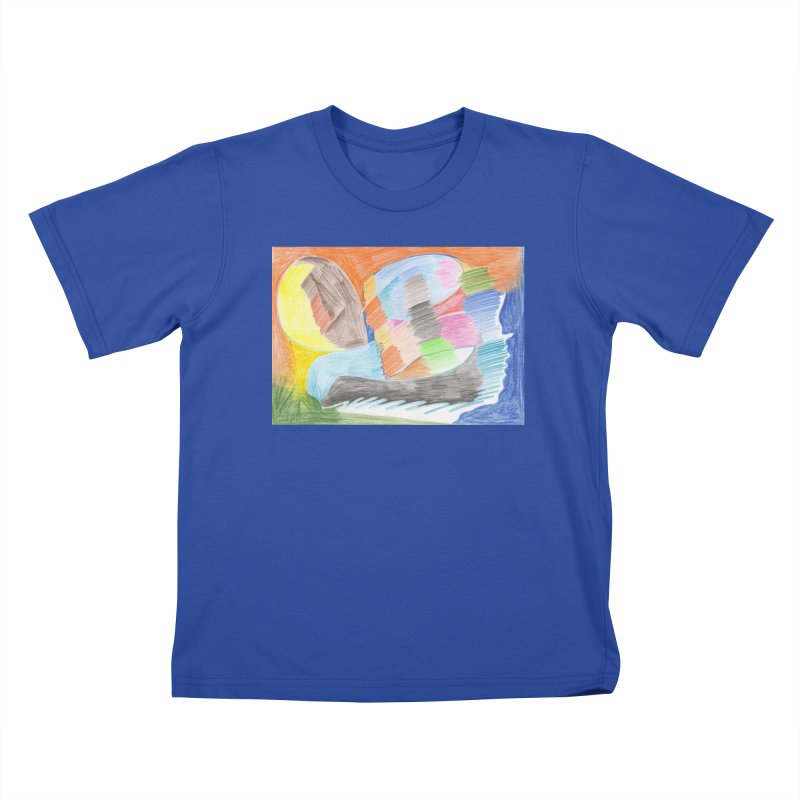 The River Of Life Kids T-Shirt by nagybarnabas's Artist Shop