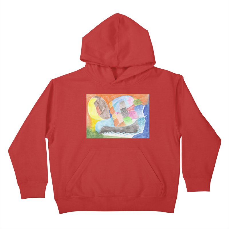 The River Of Life Kids Pullover Hoody by nagybarnabas's Artist Shop