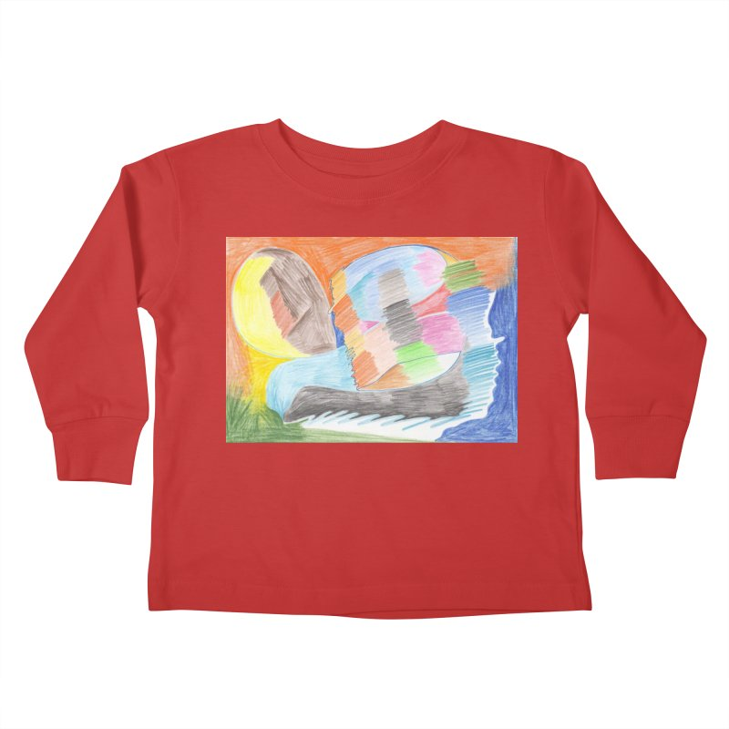 The River Of Life Kids Toddler Longsleeve T-Shirt by nagybarnabas's Artist Shop