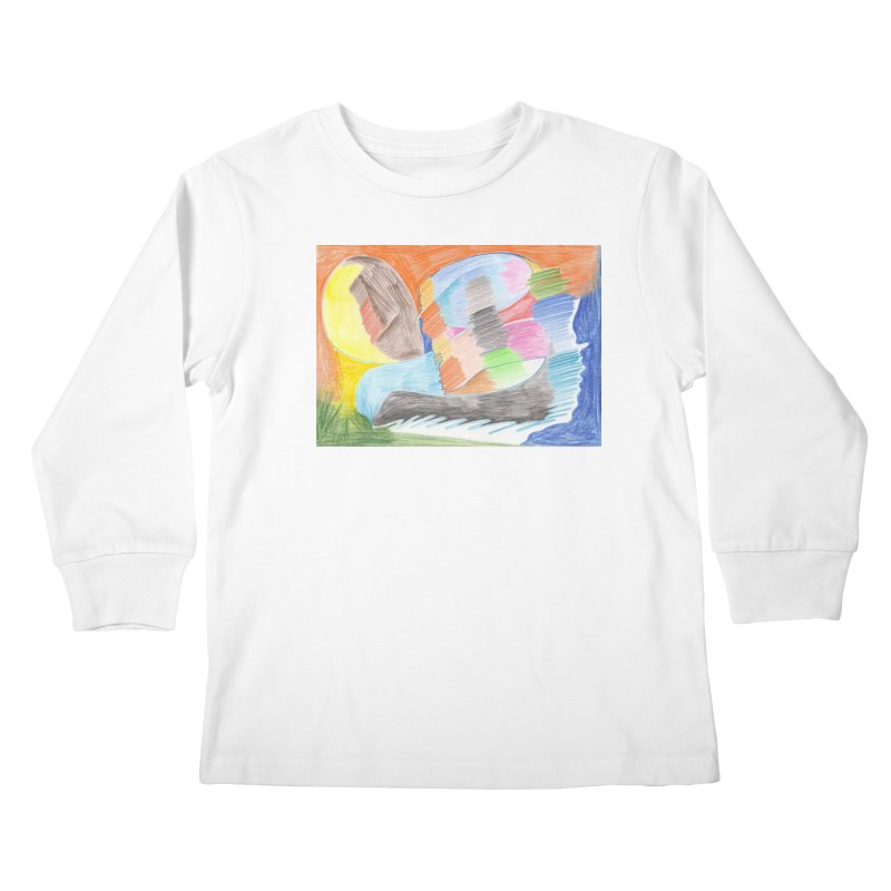 The River Of Life Kids Longsleeve T-Shirt by nagybarnabas's Artist Shop