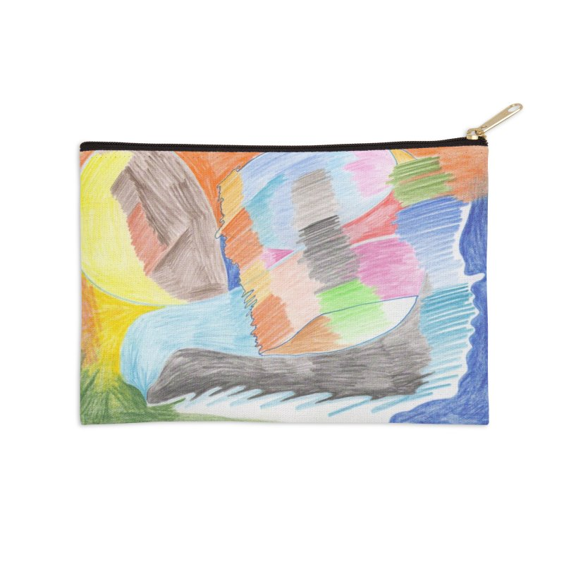 The River Of Life Accessories Zip Pouch by nagybarnabas's Artist Shop