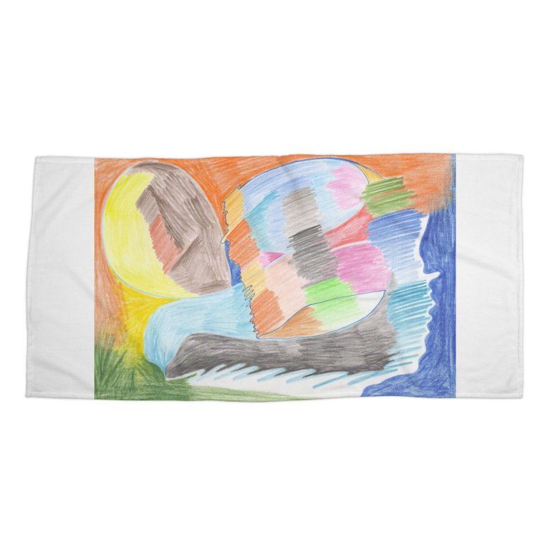 The River Of Life Accessories Beach Towel by nagybarnabas's Artist Shop