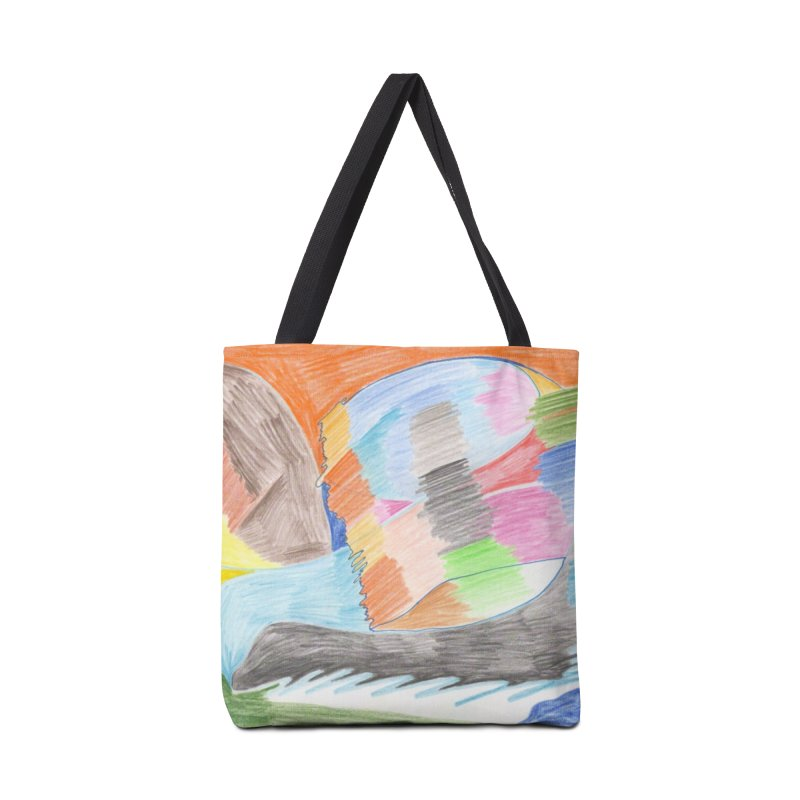 The River Of Life Accessories Bag by nagybarnabas's Artist Shop