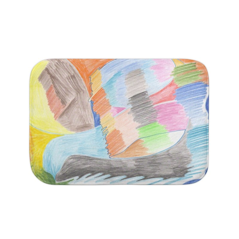 The River Of Life Home Bath Mat by nagybarnabas's Artist Shop