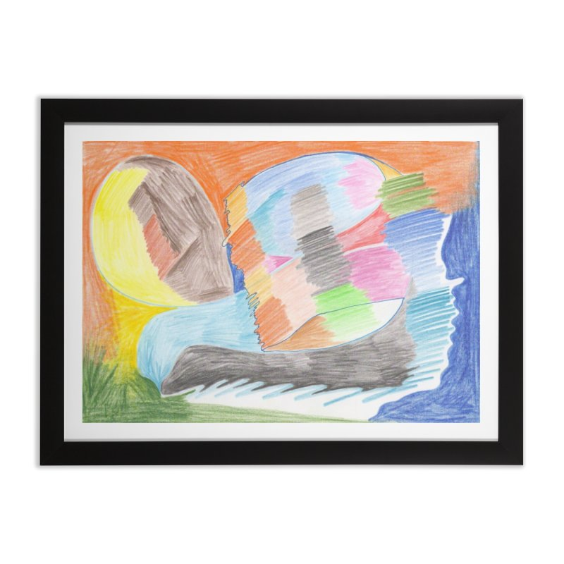The River Of Life Home Framed Fine Art Print by nagybarnabas's Artist Shop