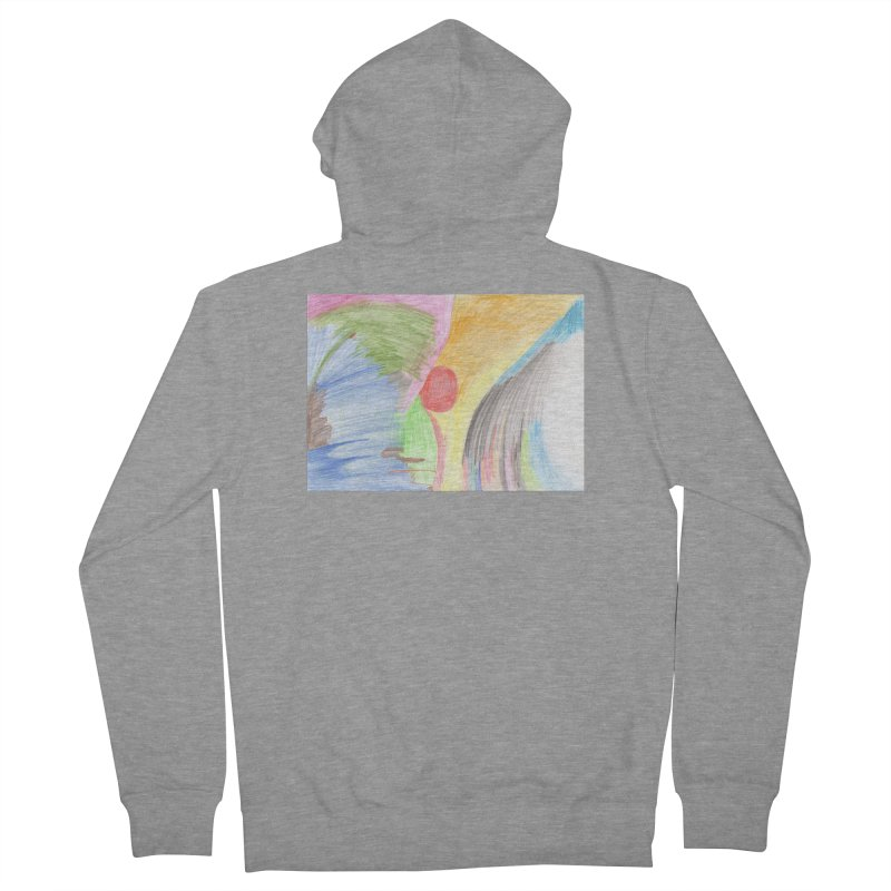 Breast-scape Women's French Terry Zip-Up Hoody by nagybarnabas's Artist Shop