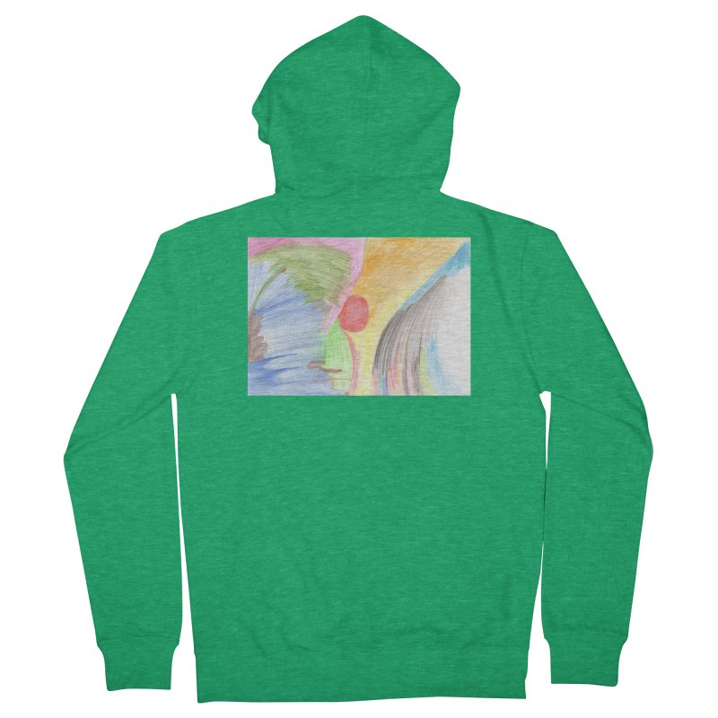 Breast-scape Men's French Terry Zip-Up Hoody by nagybarnabas's Artist Shop
