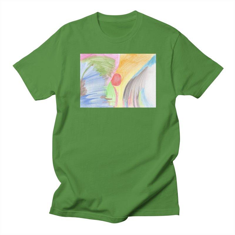 Breast-scape Men's Regular T-Shirt by nagybarnabas's Artist Shop