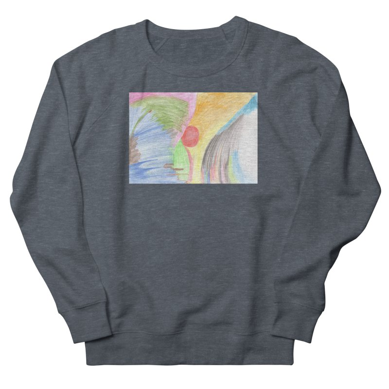 Breast-scape Women's French Terry Sweatshirt by nagybarnabas's Artist Shop