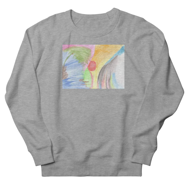 Breast-scape Men's French Terry Sweatshirt by nagybarnabas's Artist Shop