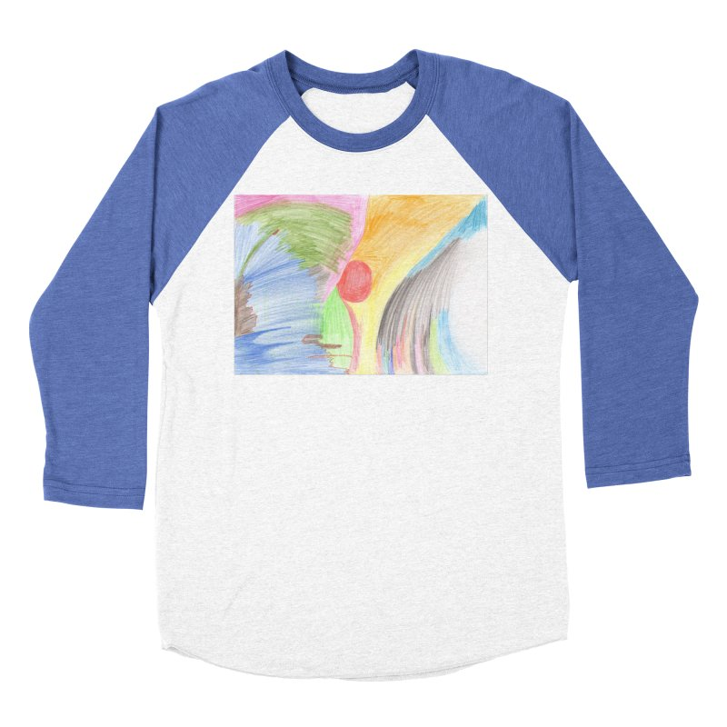 Breast-scape Men's Baseball Triblend Longsleeve T-Shirt by nagybarnabas's Artist Shop
