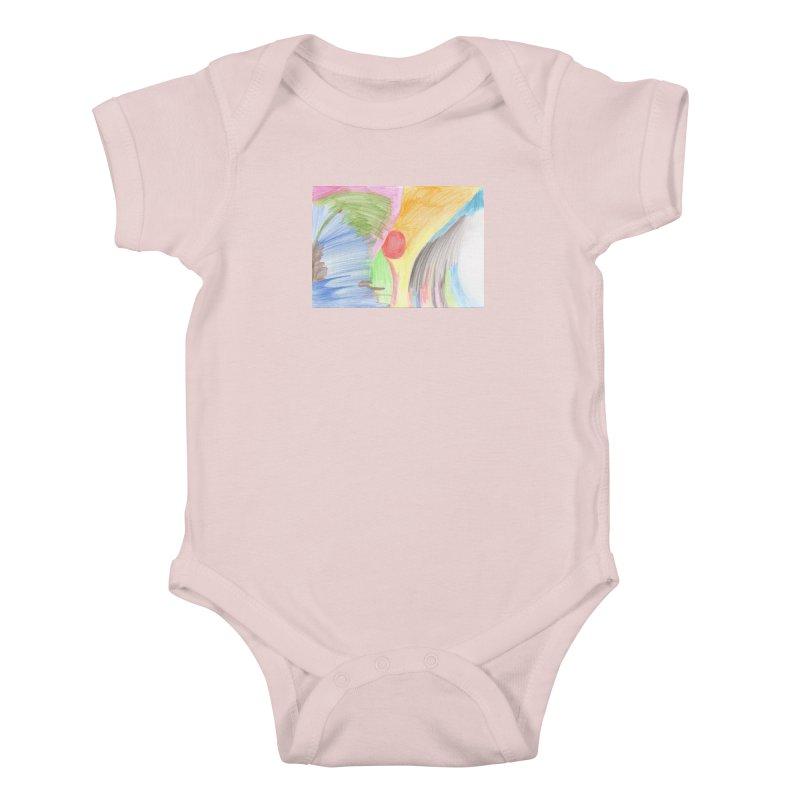 Breast-scape Kids Baby Bodysuit by nagybarnabas's Artist Shop