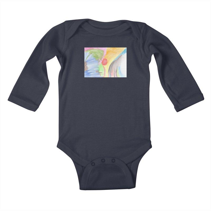 Breast-scape Kids Baby Longsleeve Bodysuit by nagybarnabas's Artist Shop