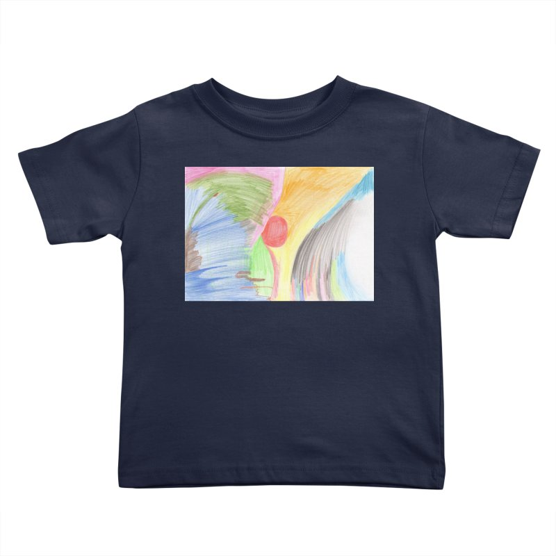 Breast-scape Kids Toddler T-Shirt by nagybarnabas's Artist Shop