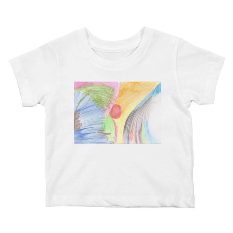 Breast-scape Kids Baby T-Shirt by nagybarnabas's Artist Shop