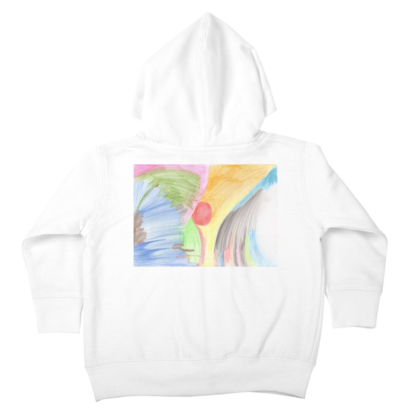 Breast-scape Kids Toddler Zip-Up Hoody by nagybarnabas's Artist Shop