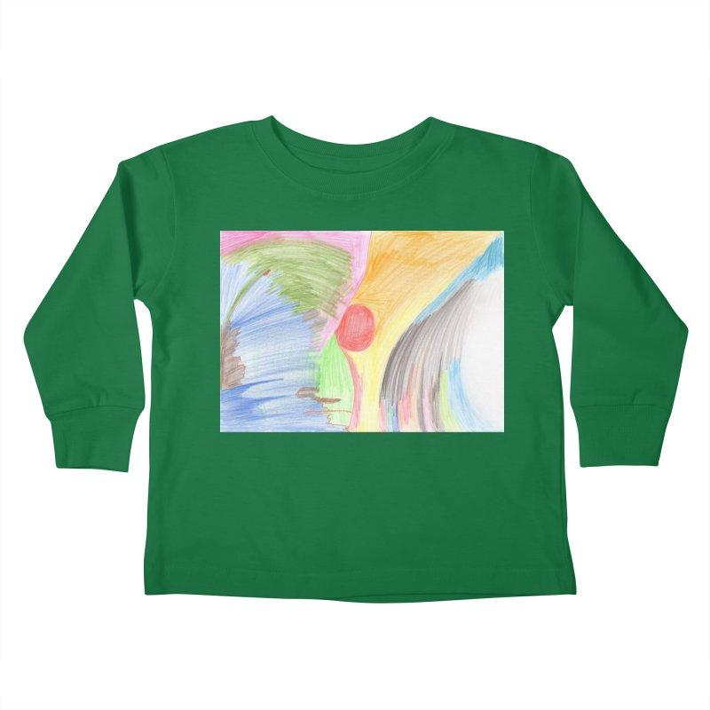 Breast-scape Kids Toddler Longsleeve T-Shirt by nagybarnabas's Artist Shop