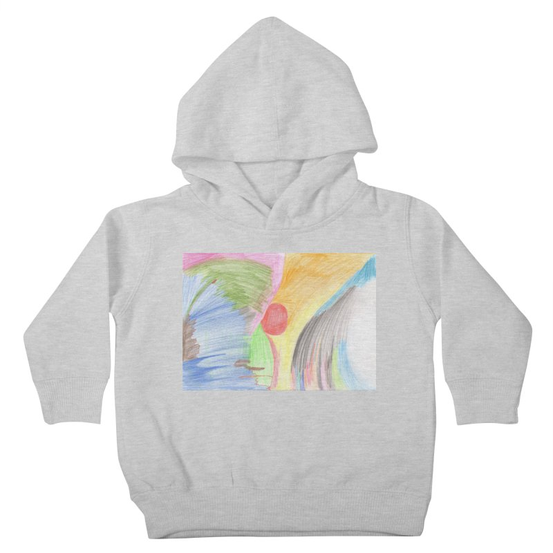 Breast-scape Kids Toddler Pullover Hoody by nagybarnabas's Artist Shop