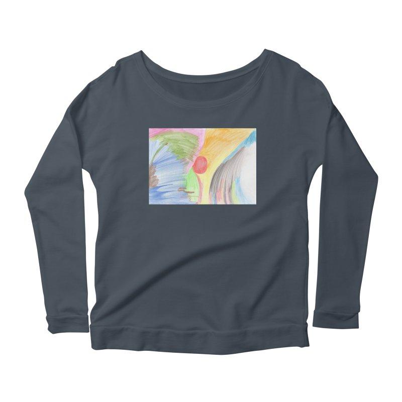 Breast-scape Women's Scoop Neck Longsleeve T-Shirt by nagybarnabas's Artist Shop