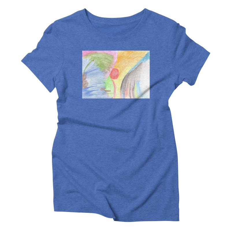 Breast-scape Women's Triblend T-Shirt by nagybarnabas's Artist Shop