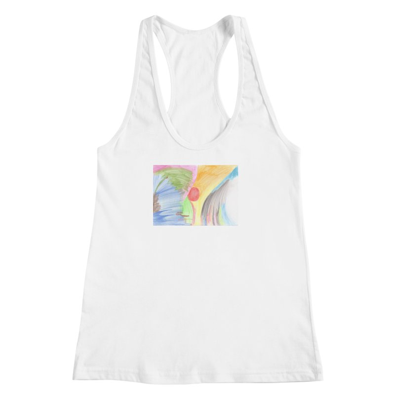 Breast-scape Women's Racerback Tank by nagybarnabas's Artist Shop