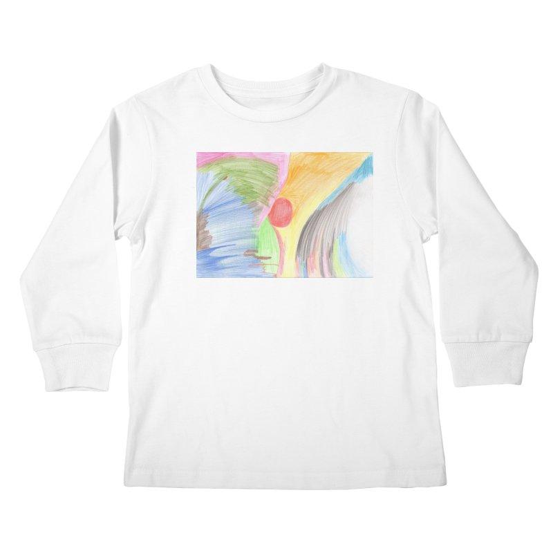 Breast-scape Kids Longsleeve T-Shirt by nagybarnabas's Artist Shop