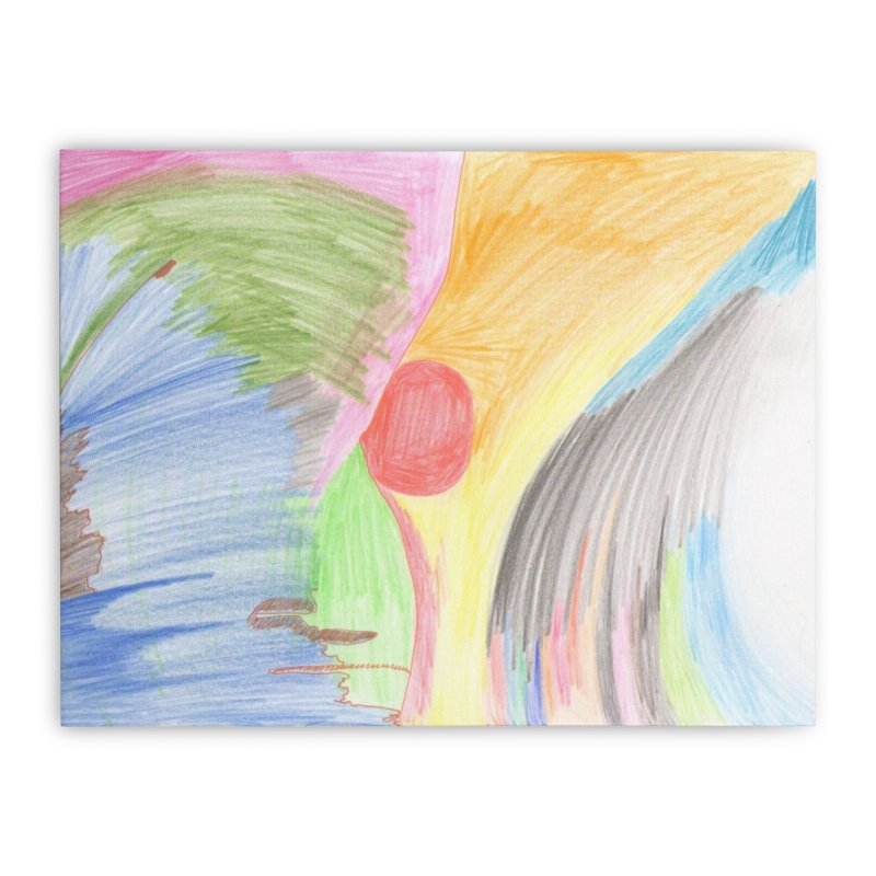 Breast-scape Home Stretched Canvas by nagybarnabas's Artist Shop