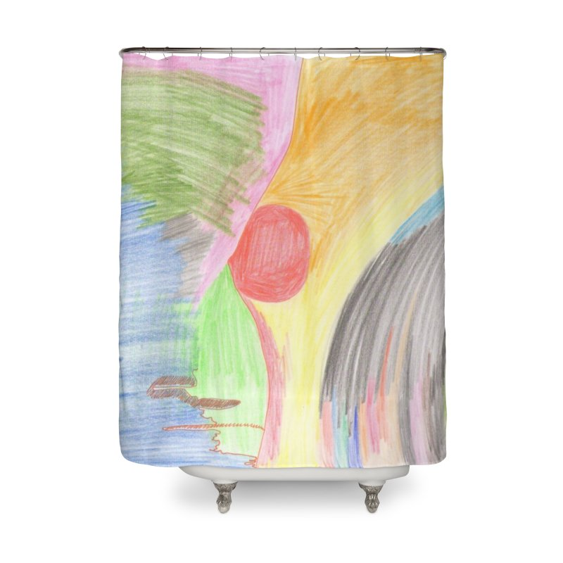 Breast-scape Home Shower Curtain by nagybarnabas's Artist Shop