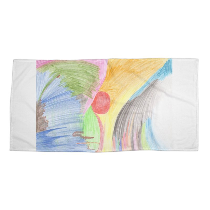 Breast-scape Accessories Beach Towel by nagybarnabas's Artist Shop
