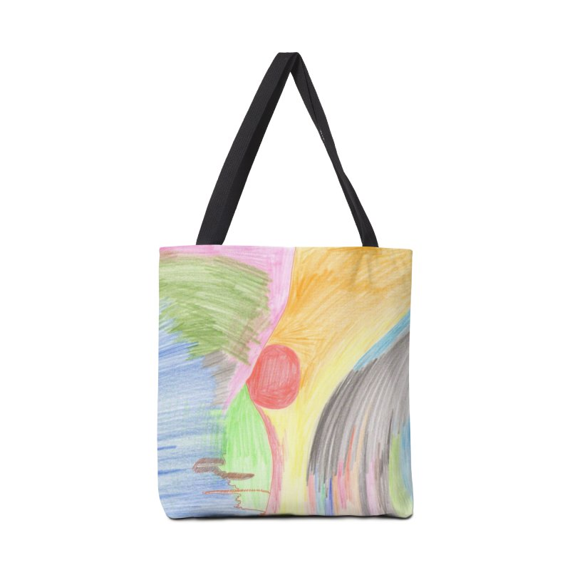 Breast-scape Accessories Bag by nagybarnabas's Artist Shop