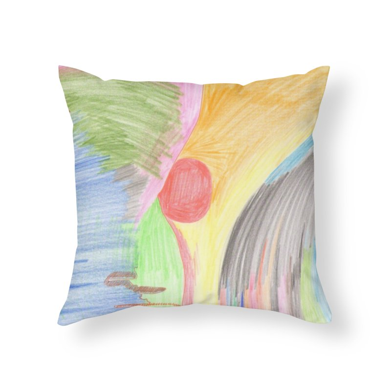 Breast-scape Home Throw Pillow by nagybarnabas's Artist Shop
