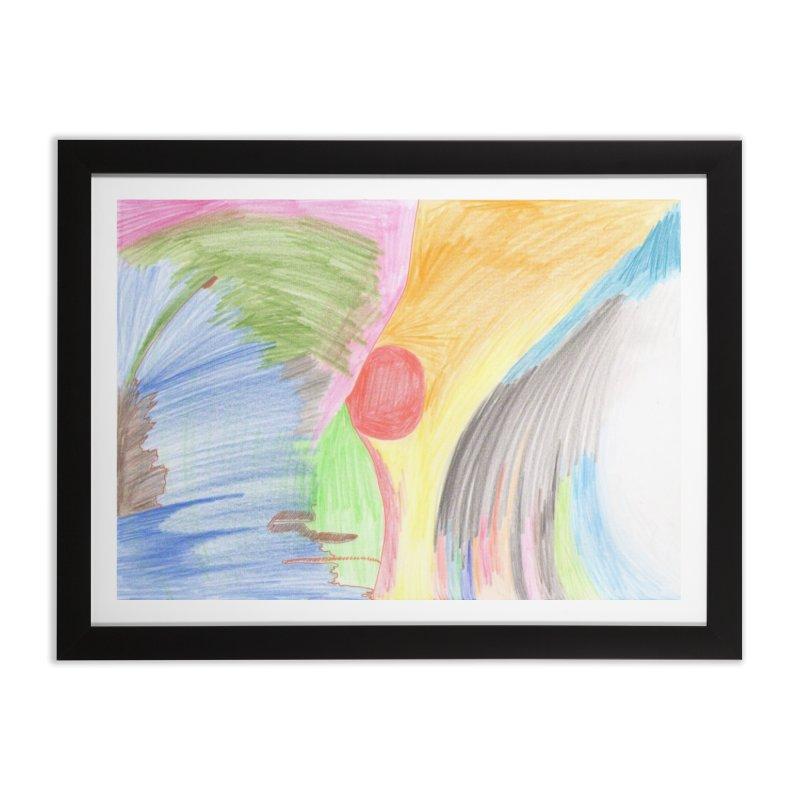Breast-scape Home Framed Fine Art Print by nagybarnabas's Artist Shop