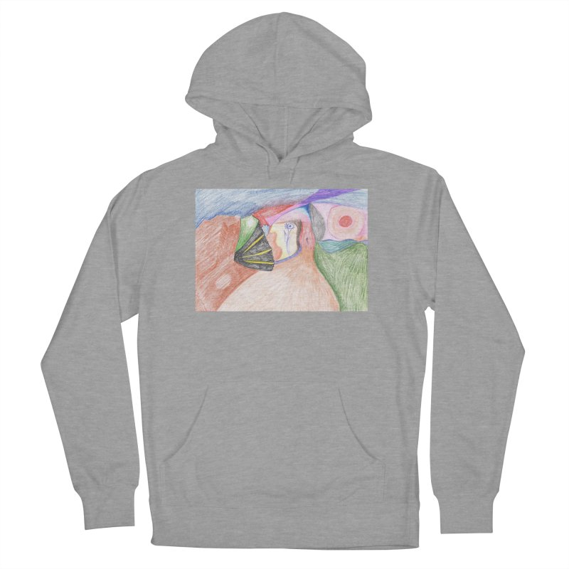 Naked Sunset Men's French Terry Pullover Hoody by nagybarnabas's Artist Shop