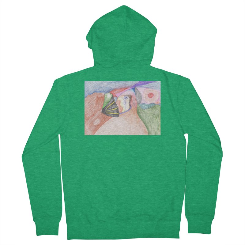 Naked Sunset Women's French Terry Zip-Up Hoody by nagybarnabas's Artist Shop
